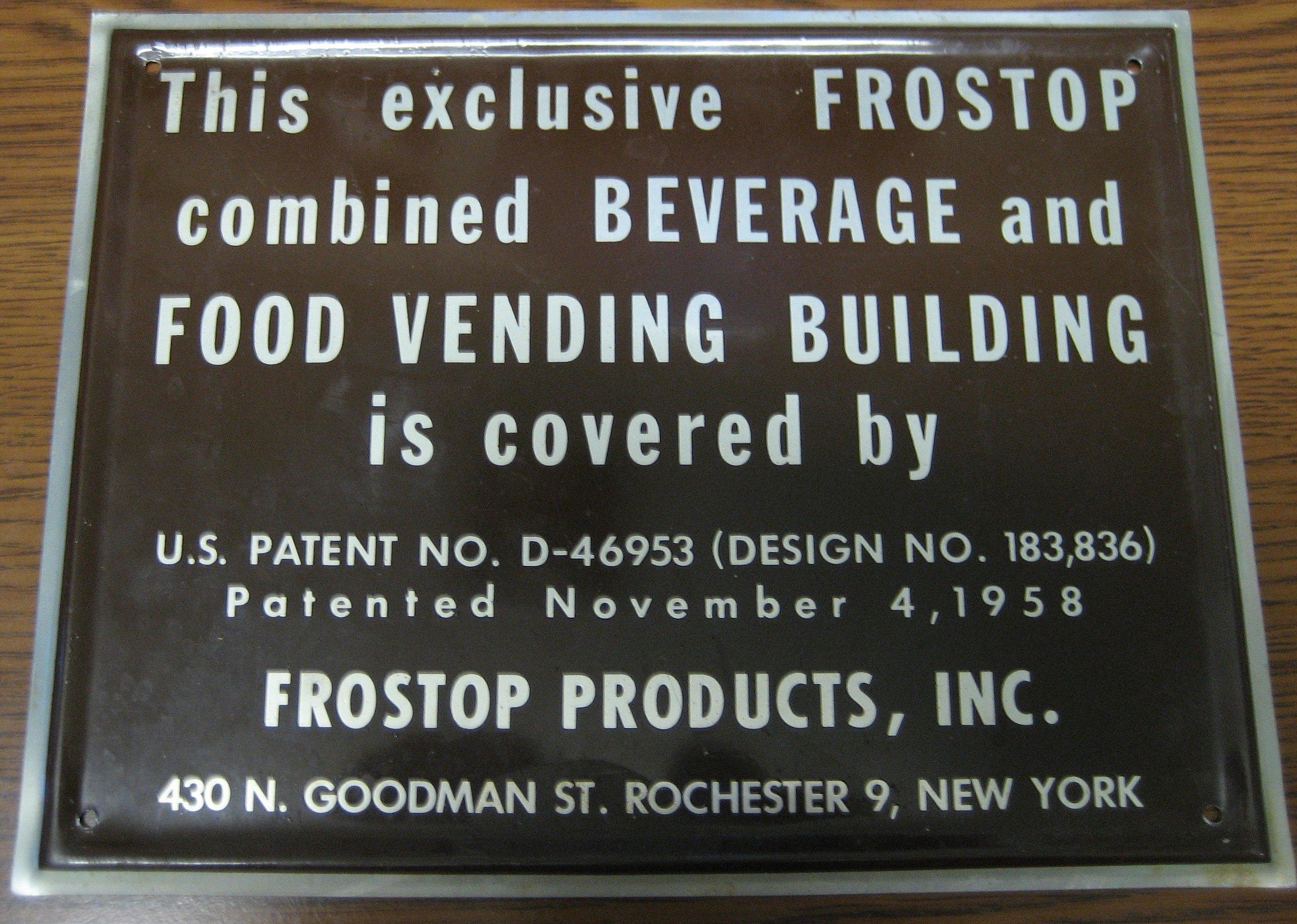 1958 patent