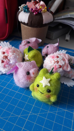 Mini peluches