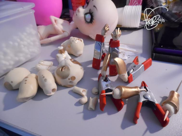 Pullip et créature dolls