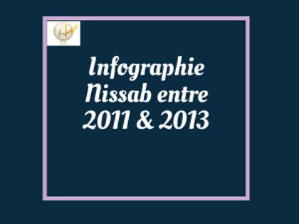 Infographie Nissab entre 2011 et 2013