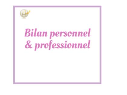 Bilan personnel & professionnel