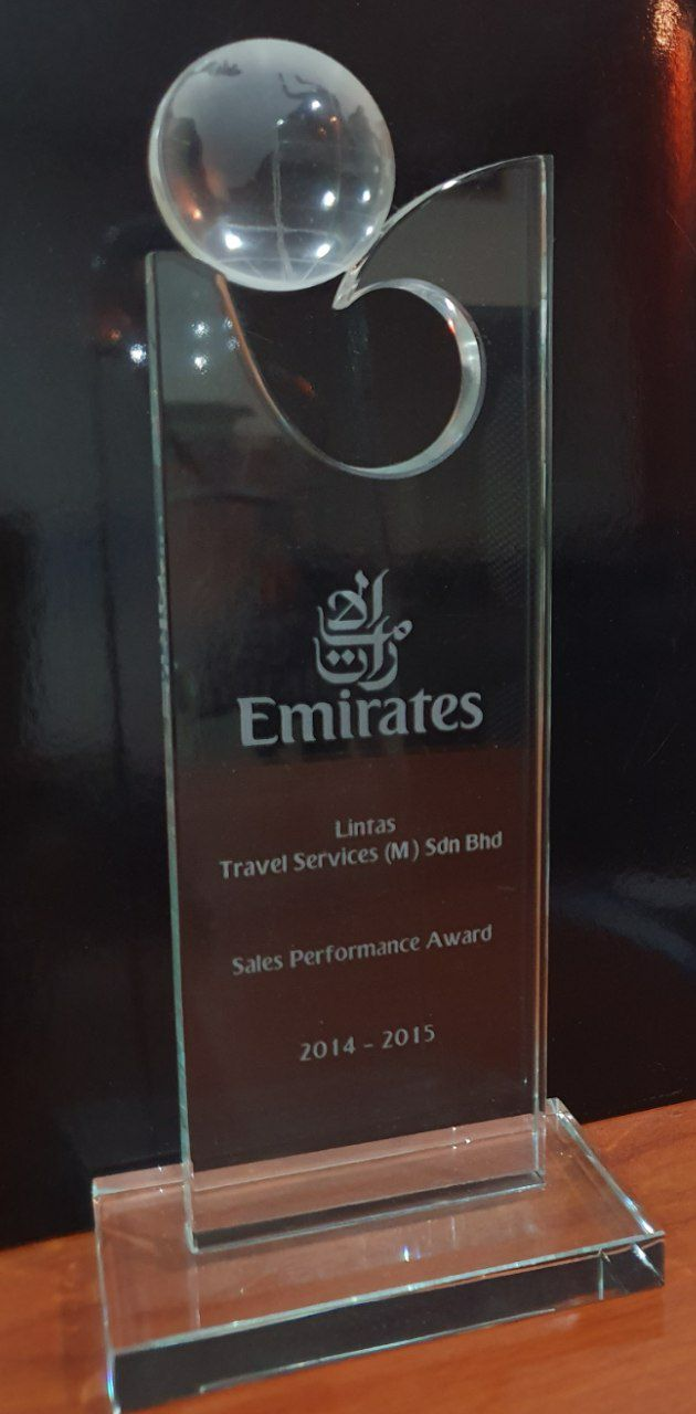 Emirates Sales Performance Award