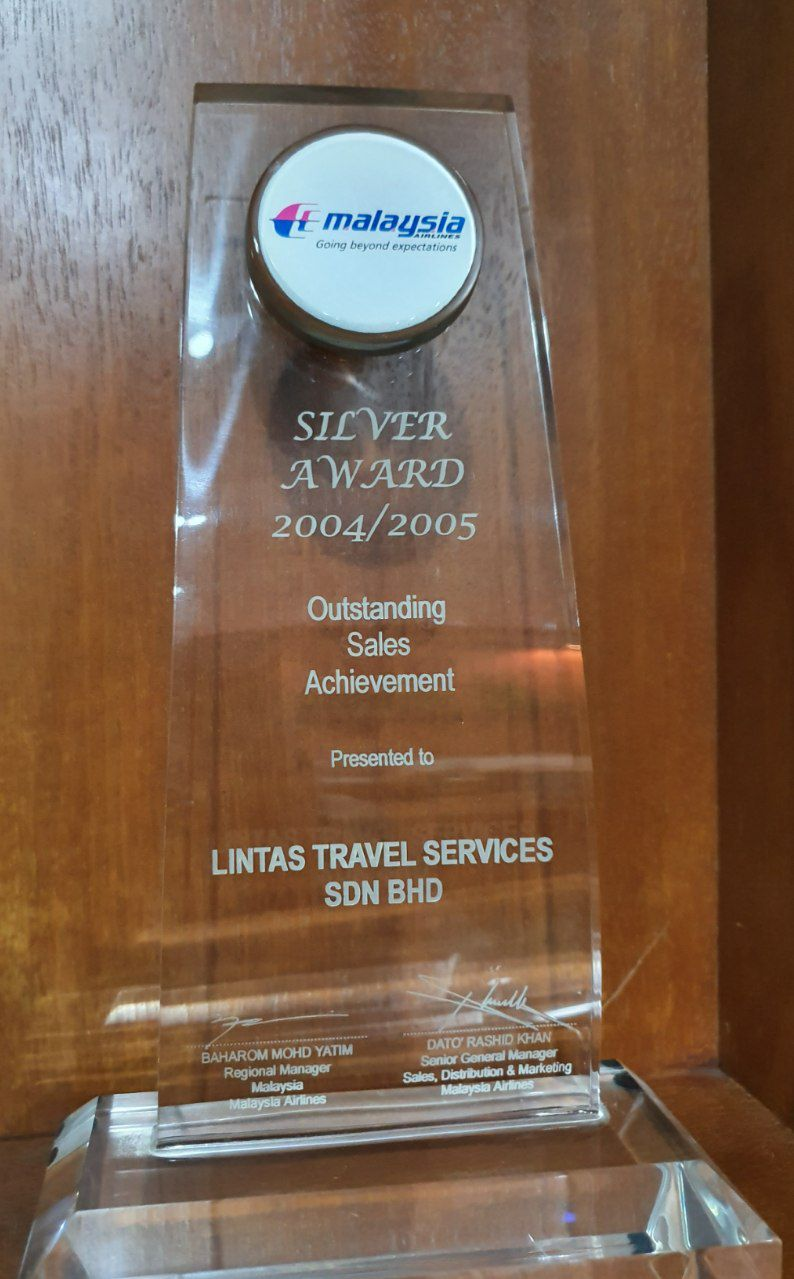 Malaysia Airlines Outstanding Sales Achievement