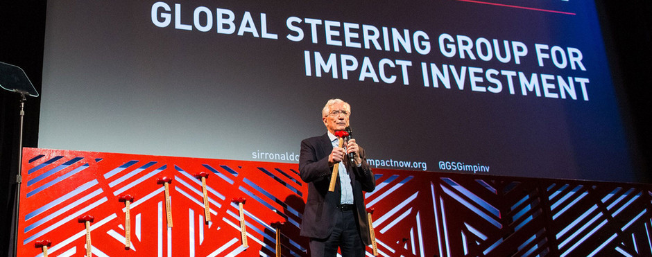 We are officially members of the Global Steering Group for Impact Investment!