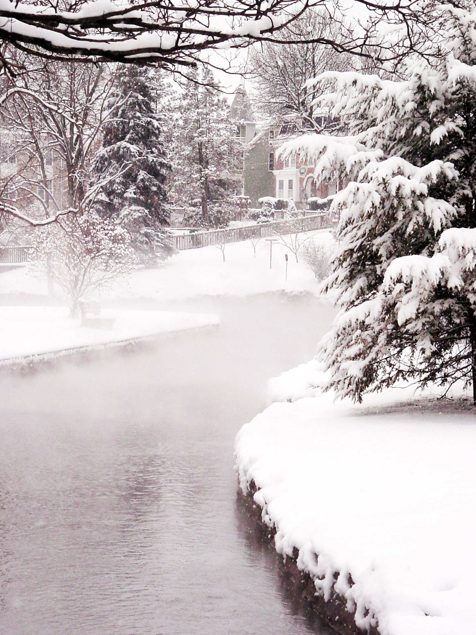Boiling Springs In The Winter