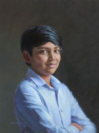 """Kabir Private Collection 22x17"""" Oil on linen"""