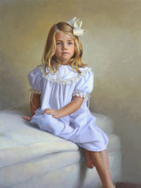 """Catherine Private Collection 40x26"""" Oil on linen"""