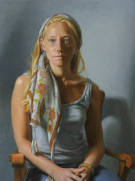 """""""Cusp"""" Private Collection 30x20"""" Oil on linen"""