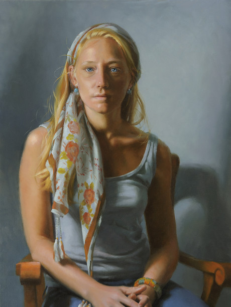 """Cusp"" Private Collection 30x20"" Oil on linen"
