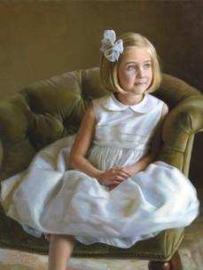 "Anna Scott Private Collection 33x26"" Oil on linen"