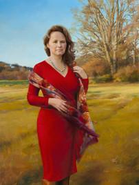 "Karen Jackson Private Collection 69x39"" Oil on linen"