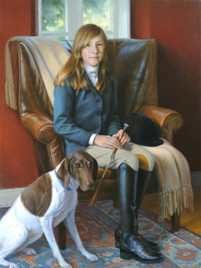 """Holland and Sabrina Private Collection 52x38"""" Oil on linen"""