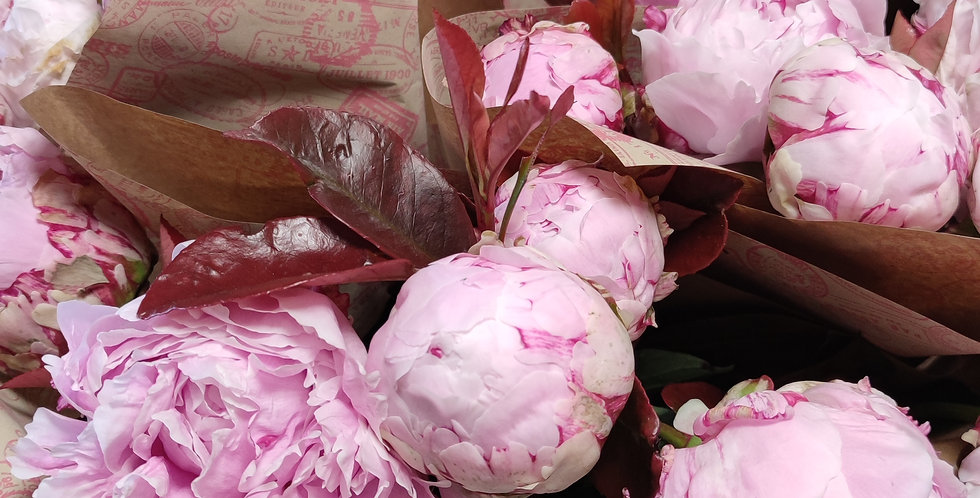 Bouquet 9 pivoines