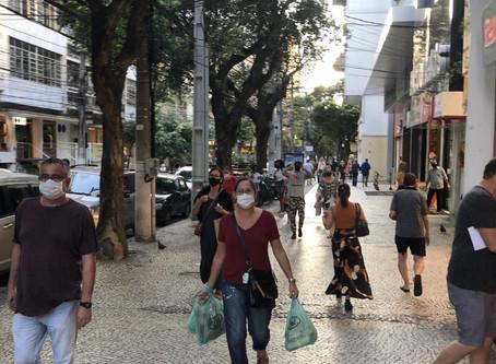 Niterói reduz isolamento, como se não houvesse pandemia