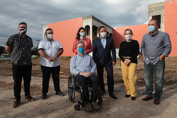 Niterói investe em cultura, com obra no Instituto de Artes e Comunicação da UFF
