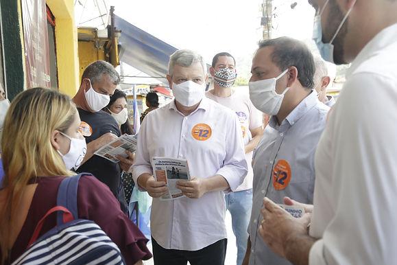 Axel Grael, do PDT, prepara pacote de obras para ativar a economia de Niterói