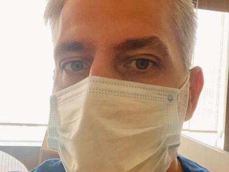 'A gente vê o recrudescimento dos casos e fica tenso com hospitais lotados', diz anestesista