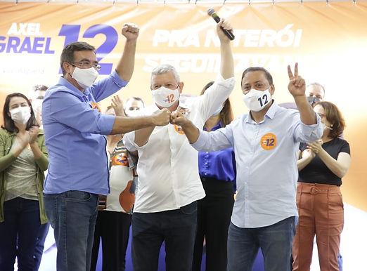 Niterói elege Axel Grael com 62% dos votos