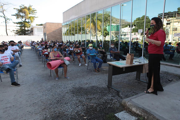 Niterói dá curso para ambulantes trabalharem na pandemia
