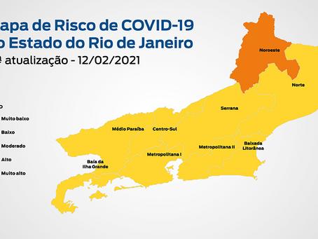 Estado sustenta queda da transmissão da Covid e entra em estágio de risco baixo