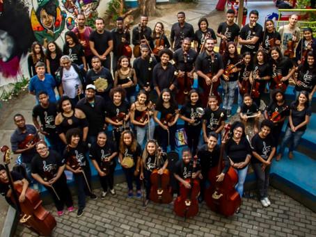 Chuva deixa integrantes da Orquestra da Grota desabrigados em Niterói