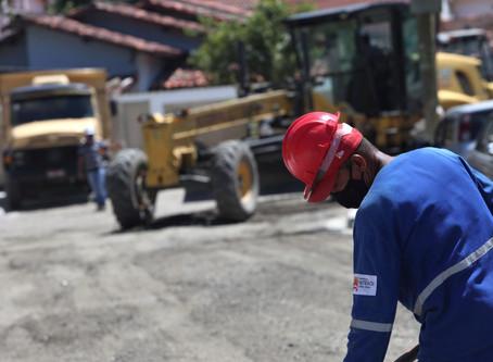 Obras em Serra Grande e Maravista