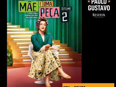 Reserva Cultural faz tributo a Paulo Gustavo com exibição de filmes do humorista