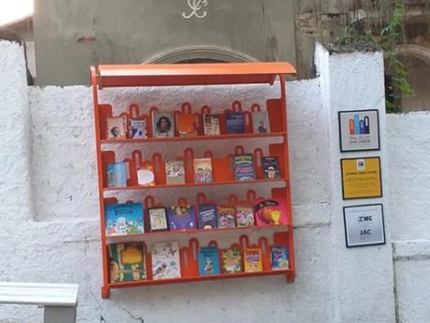 Projeto 'Palácio dos livros' incentiva a literatura em comunidade do Ingá