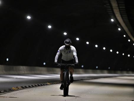 Ciclistas de alta performance falam de área de treinamento criada no túnel Charitas-Cafubá