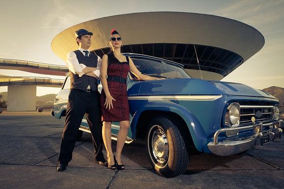 Niterói reúne carros antigos no Drive-in