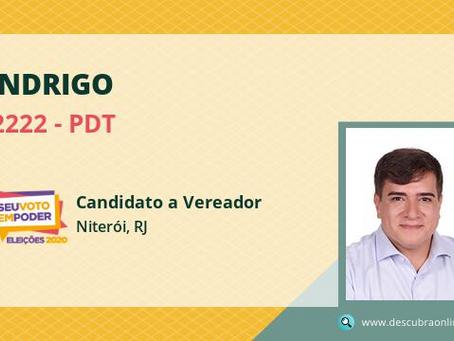 Andrigo, o vereador mais votado de Niterói, tem reduto no Fonseca