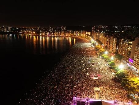 Réveillon de Niterói não terá shows na praia; queima de fogos será em diversos bairros da cidade