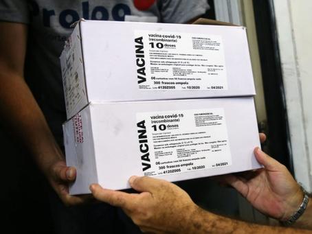 Niterói recebe remessa de vacinas de Oxford/Astrazeneca nesta quarta