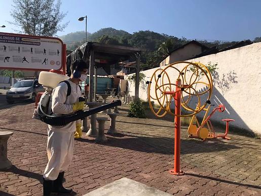 Higienização no Fonseca