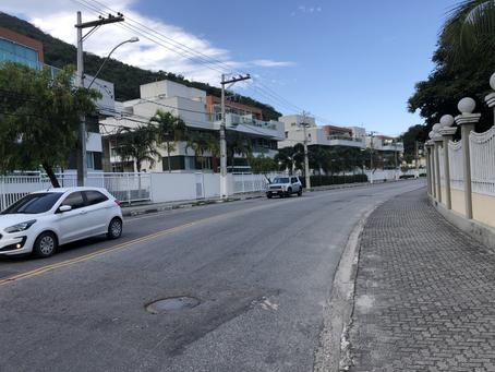 Procura-se! Ciclofaixa da Estrada de Itacoatiara desaparece