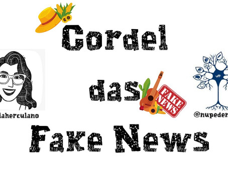 Ciência e cordéis se unem em Niterói para combater fake news sobre Covid