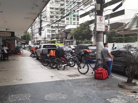 Com motoboys em paralisação, entrega de restaurantes demora até 90 minutos em Niterói