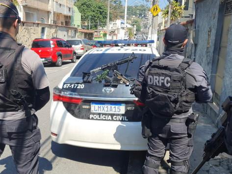 Cinco bairros de Niterói concentram 60% de todos os tiroteios de 2021