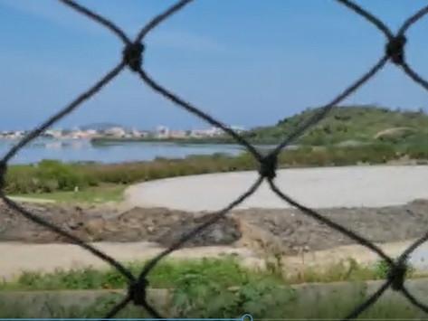 Canteiro de obras do Parque Orla é esvaziado; Prefeitura nega paralisação