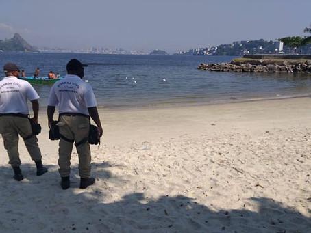 Fim de semana será de tempo bom, mas praias de Niterói seguem fechadas
