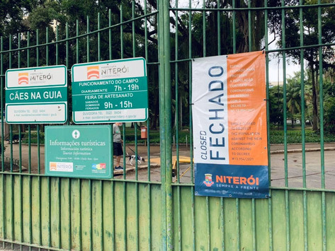 Portões principais do Campo de São Bento continuam fechados e irritam moradores