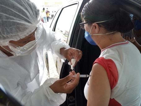 Vacinados com primeira dose em Niterói representam 40% da população