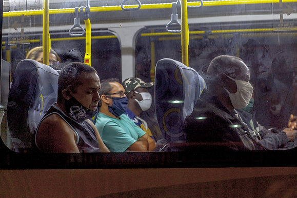 Ponte: a volta dos ônibus de Niterói para o Rio