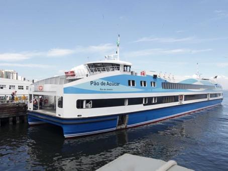 Catamarã de Charitas já tem data para voltar a operar, e intervalo das Barcas será reduzido