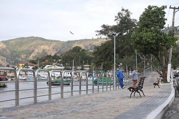 Calçada de Jurujuba ganha nova proteção