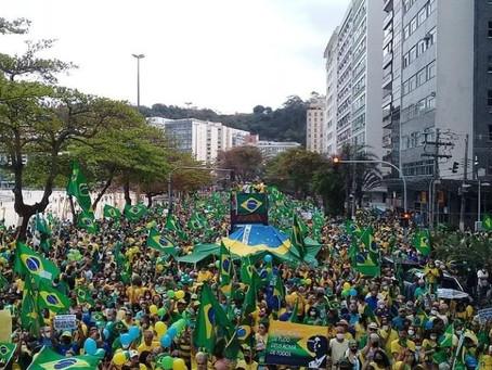 Manifestação bolsonarista em Icaraí tem ameaças à democracia e defesa da ditadura militar
