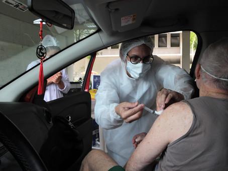 Niterói tem mais de 4 mil idosos com a segunda dose da vacina em atraso