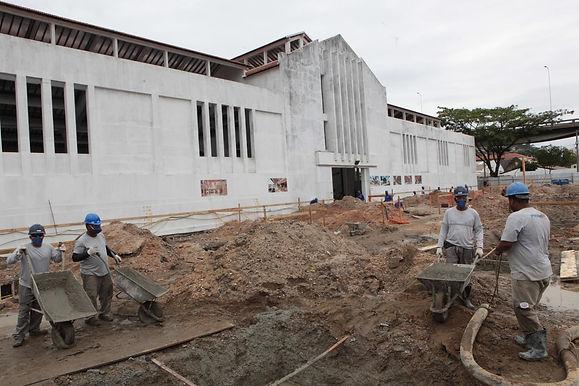 Obras do Novo Mercado Municipal, no Centro de Niterói, estão aceleradas