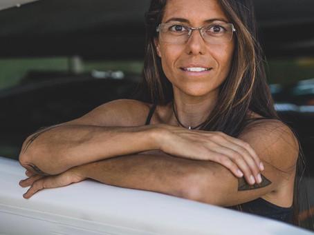 Uma mídia que revela seu amor por Niterói, diz a esportista Luiza Perin