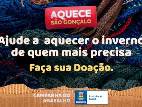 São Gonçalo lança campanha para doações de agasalho